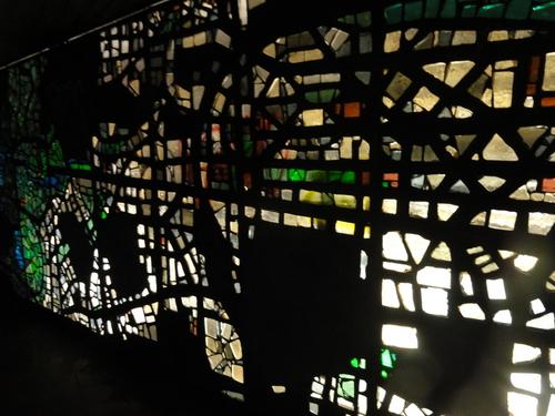 documenta 14, U-Bahnhof Kassel, Glaskunstwerk