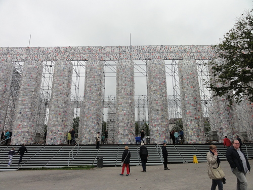 documenta 14, Pantheon der verbotenen Bücher
