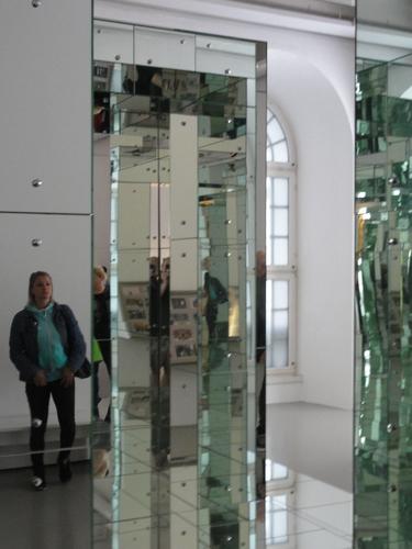 documenta 14, Spiegel-Skulptur