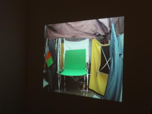 documenta 14, Bunte Klettergerüste im Atelier
