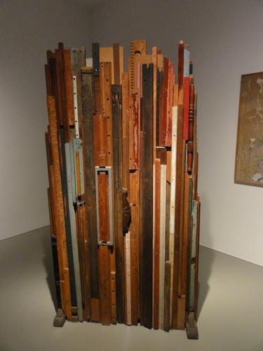 documenta 14, Latten-Skulptur