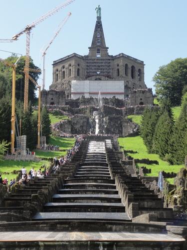 Kassel-Wilhelmshöhe, Kaskaden unterm Herkules