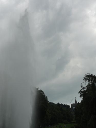 Kassel-Wilhelmshöhe, Fontäne