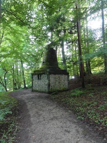 "Kassel-Wilhelmshöhe, Park, ""Grabmal des Vergil"""
