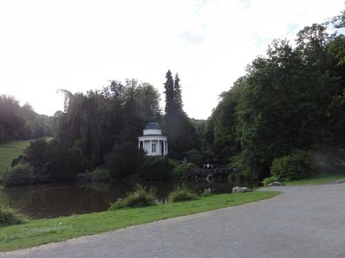 "Kassel-Wilhelmshöhe, Park, ""Jussow-Tempel"""