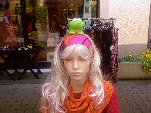 Frosch und Mode